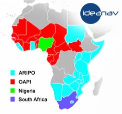 ARIPO, OAPI, Nigeria and South Africa patent