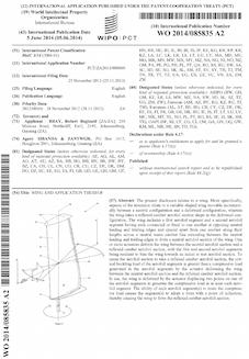 Aerofoil wing patent