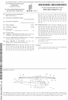 Aircraft patent