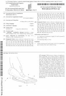 Butter applicator patent