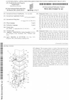 Conveyor feeder patent