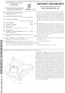 Drilling clamp patent
