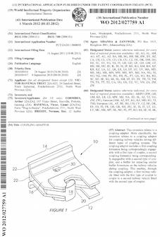 Railway coupling patent