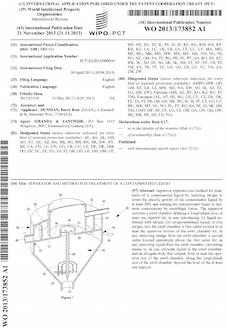 Separator patent