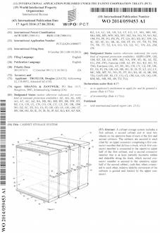 Storage cabinet patent