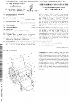 Wheelchair patent