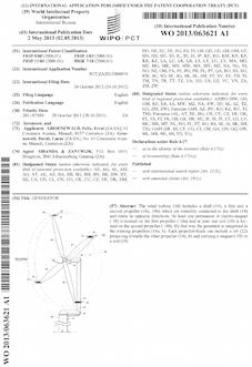 Wind turbine patent