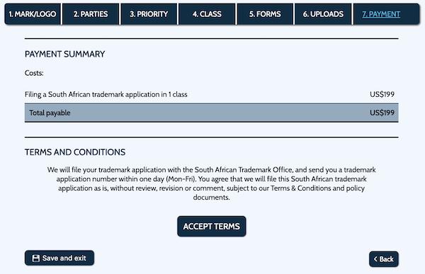Register South African Convention Trademark Online - IdeaNav