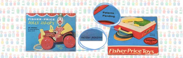 Fisher price patent