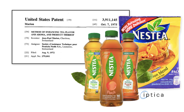 Nestle Iced Tea Patent