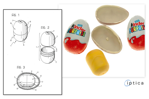 Kinder Surprise Egg Patent