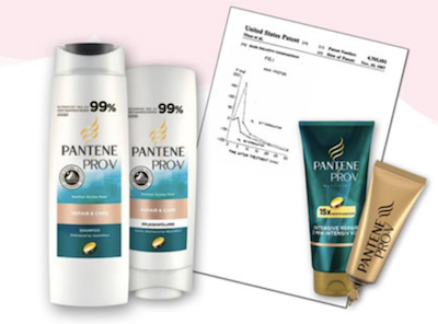 what did Pantene Pro-V patent