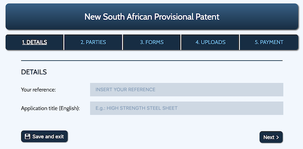 Provisional Patent title