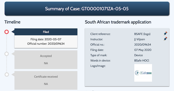 GlobalIPCo Trademark Management System Example